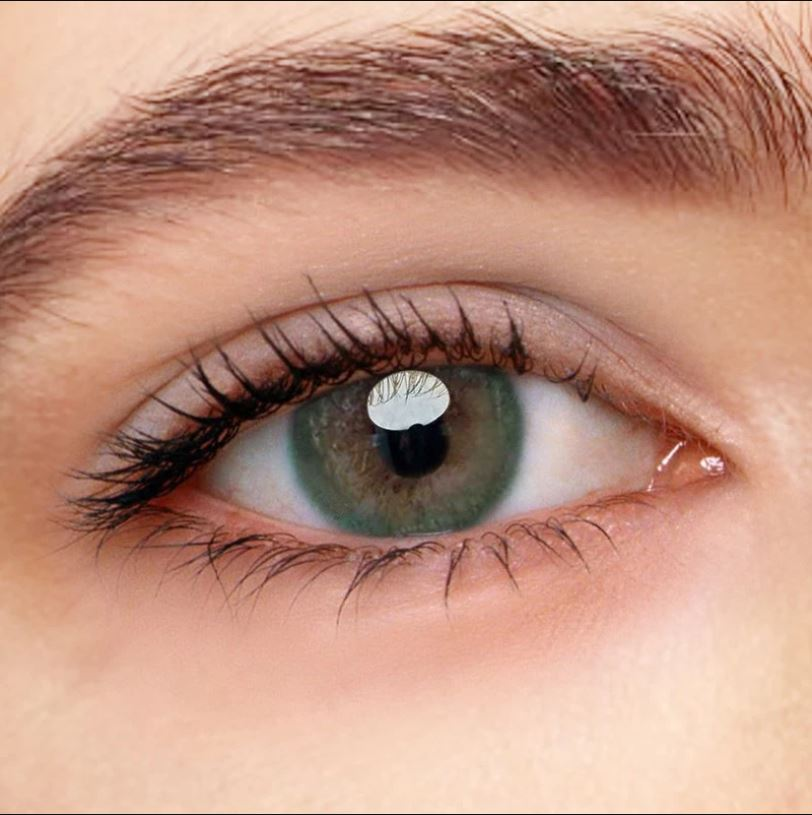Iris Green Colored Contact Lenses Beauon