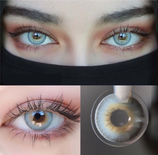 LA GIRL Blue Colored Contact Lenses Beauon