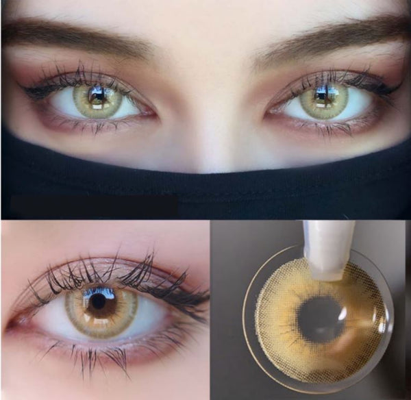 LA GIRL Brown Colored Contact Lenses Beauon