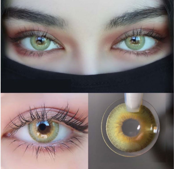 LA GIRL Green Colored Contact Lenses Beauon