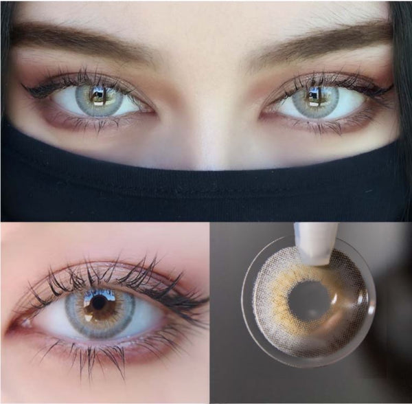 LA GIRL Grey Colored Contact Lenses Beauon
