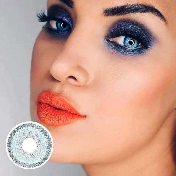 Magic Blue Colored Contact Lenses Beauon