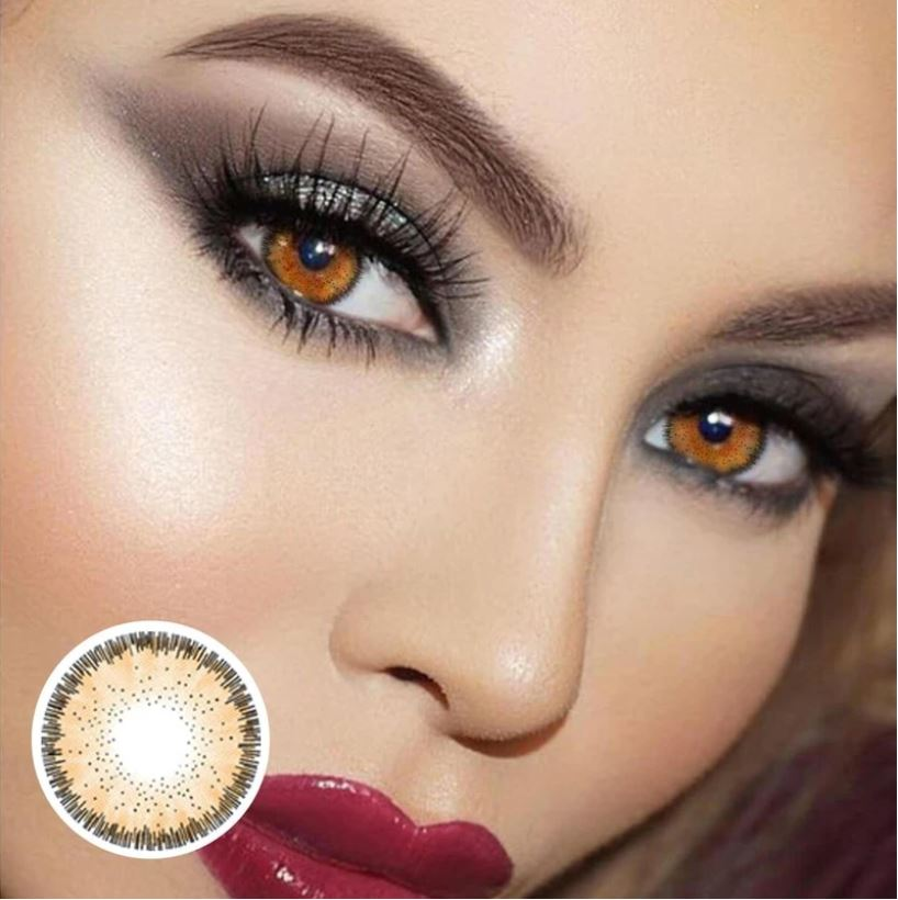 Magic Walnut Colored Contact Lenses Beauon