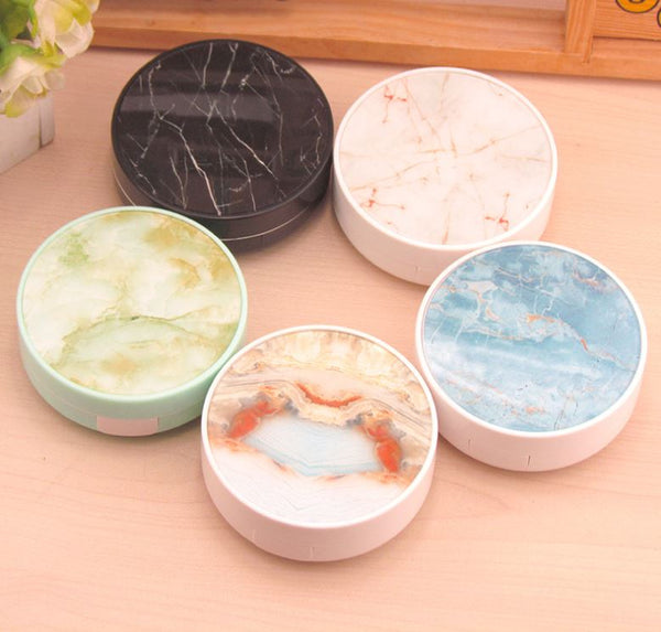 Marble Multicolor Colored Contact Lens Case Beauon