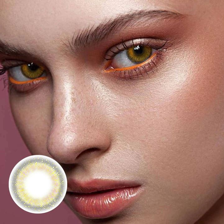 Mermaid brown Colored Contact Lenses Beauon