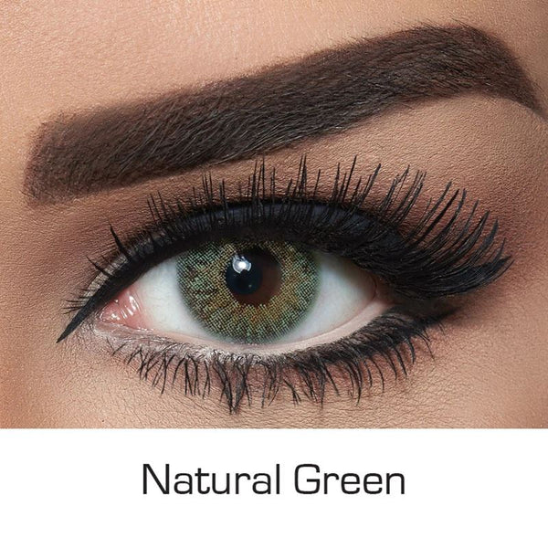 NATURAL GREEN Colored Contact Lenses Beauon