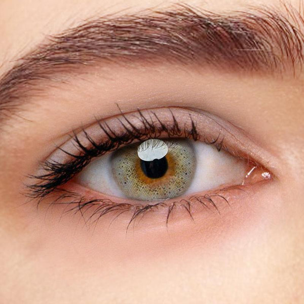 Ocean Sky Gray Colored Contact Lenses Beauon