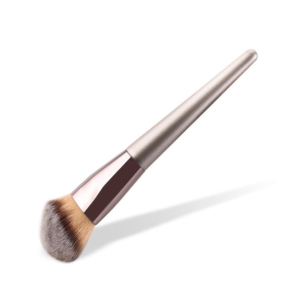 Single Brown Foundation Brush Beauon