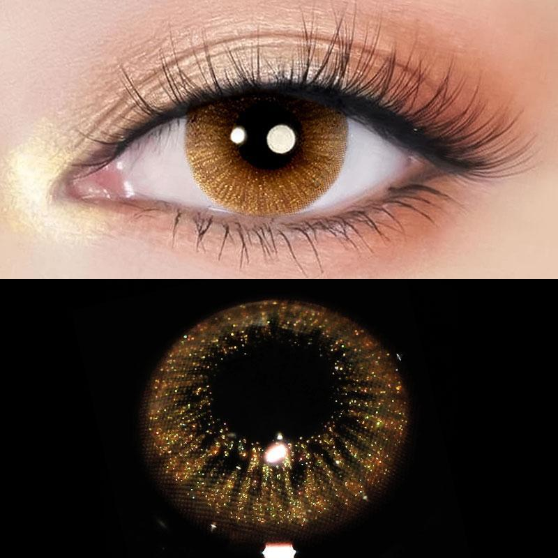 SPACE BROWN Colored Contact Lenses Beauon