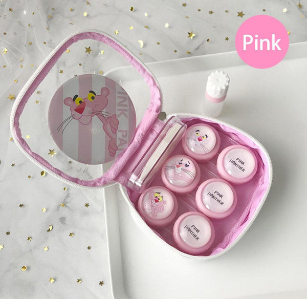 The Pink Panther Multicolor Colored Lens Case Beauon