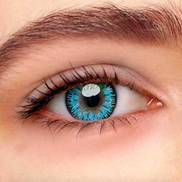 Vega Blue Colored Contact Lenses Beauon
