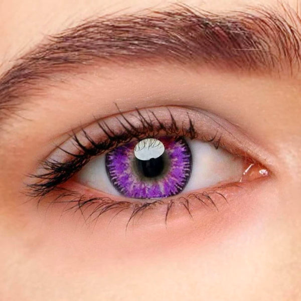 Vega Violet Purple Colored Contact Lenses Beauon