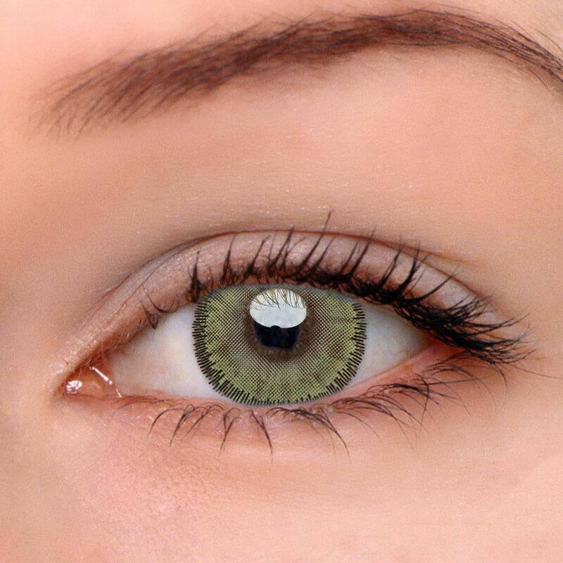 Wis Lima Green Colored Contact Lenses Beauon