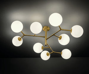 CONSTELLATION | 9 Lamp Ceiling Fitting
