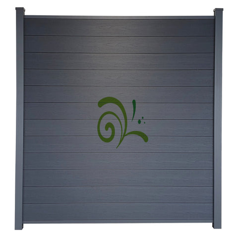 Guardener Schutting Smokey Black Co-extrusion 200x180 cm