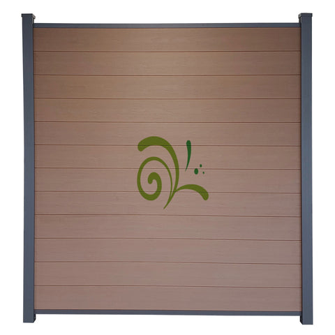 Guardener Schutting Tropical Teak Co-extrusion 200x180 cm