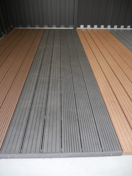 Vlonderplanken Dark-Grey All-in pakket (M2) Composiet 4 Meter