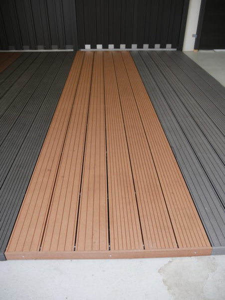Vlonderplanken Rosewood All-In Pakket (M2) Composiet 4 Meter