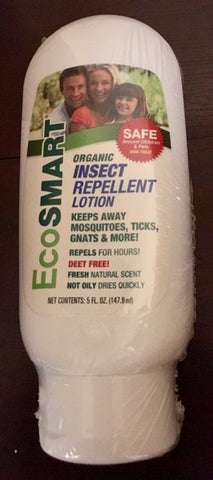 EcoSmart Organic Insect Repellent Lotion