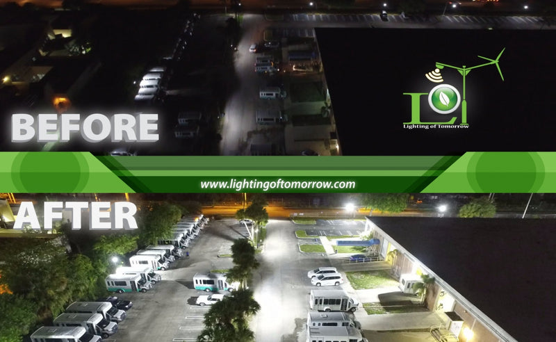 LED Security Lighting for your Property