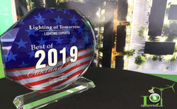 Best of Oakland Park 2019 - Lighting of Tomorrow Receives Award for Best Lighting Expert