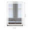 "LED Bathroom Lighted Mirror 24"" X 36"" Lighted Vanity Mirror Includes Defogger, Inner Window Style - Lighting of Tomorrow"