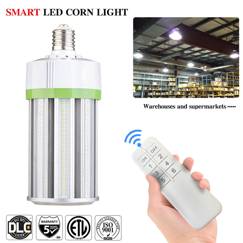 LED Corn Lamp E39 Base 5000K IP65 Dimmable