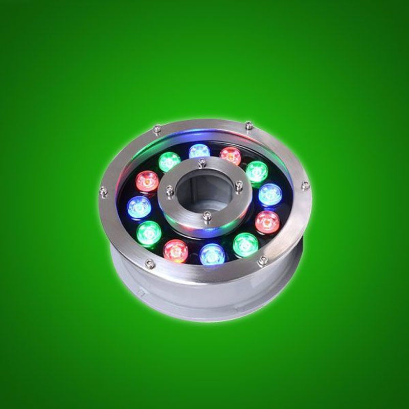 Recessed LED Pool Light with IP68 Waterproof for Outdoor Lighting