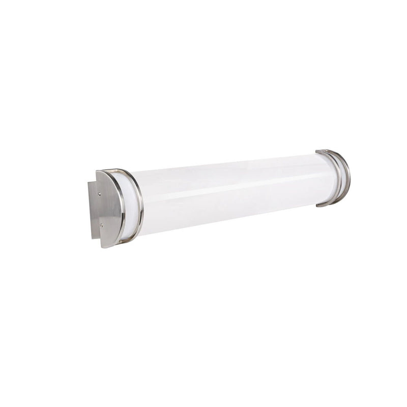 30W LED Vanity Light Bar with 2100lm Brush Nickel Finish for Bathroom