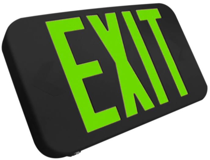 Emergency Exit Sign with Battery Backup