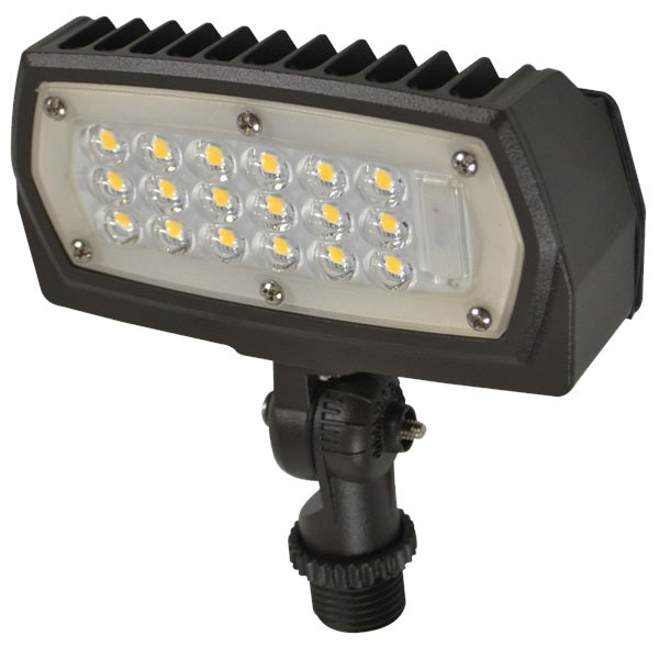 LED Flood Light Knuckle Mount Fixture | AC120-277V
