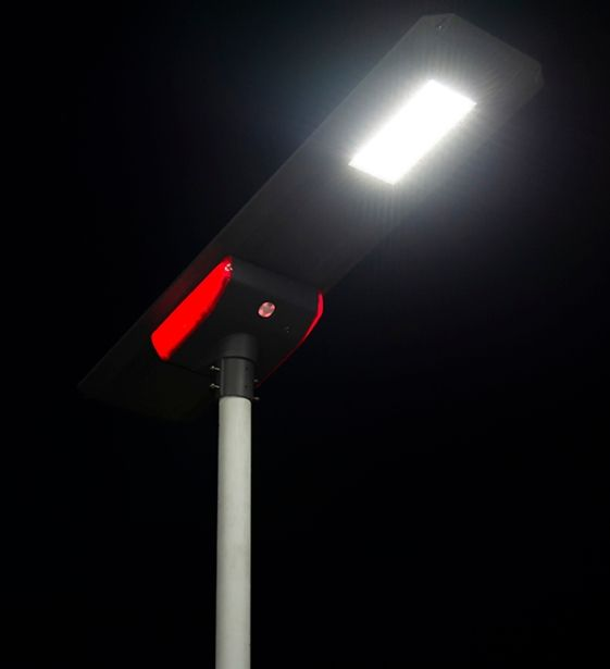 LED Solar Street Light | With Detachable Battery | Includes Smart App | Dusk to Dawn or manual setting