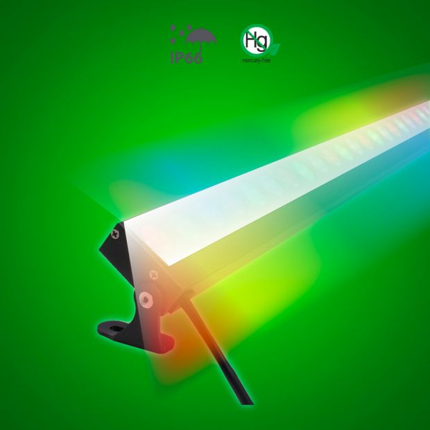 Long Linear LED Wall Washer - RGB - Lighting of Tomorrow