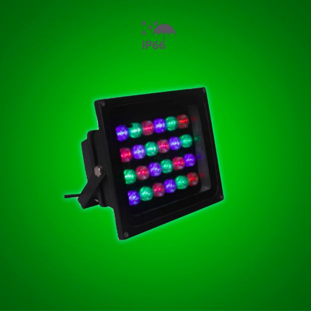 LED RGB Square Wall Washer - Lighting of Tomorrow