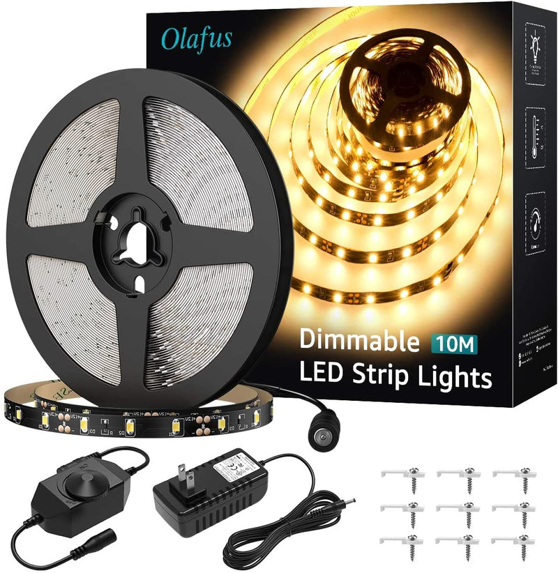 LED Strip Light | White | 32.8 feet | 12 volts