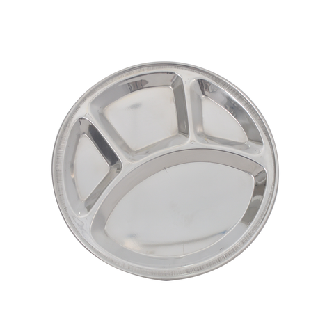 Thali Parition Steel Round No. 1