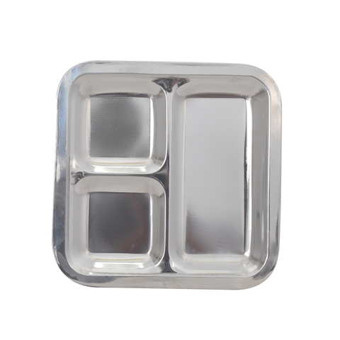 Tray Partition Steel Burger 3 square