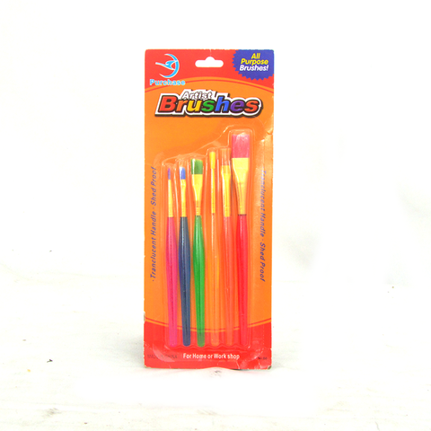 B6 COLOR BRUSH 6PCS