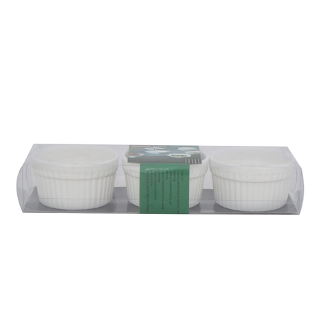 RAMEKIN 3 INCHES 3PC Set