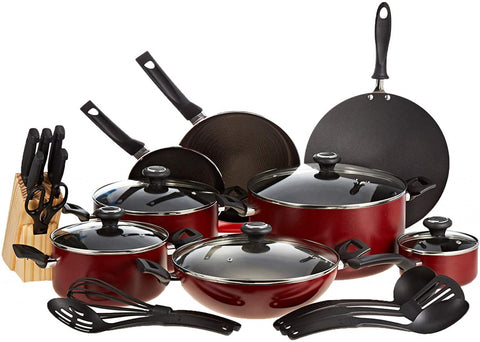 20499 25 pcs Prestige Cookset Red
