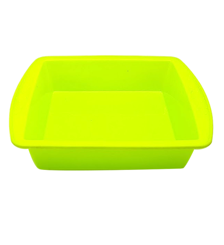Cake Pan Square Silicone No.6