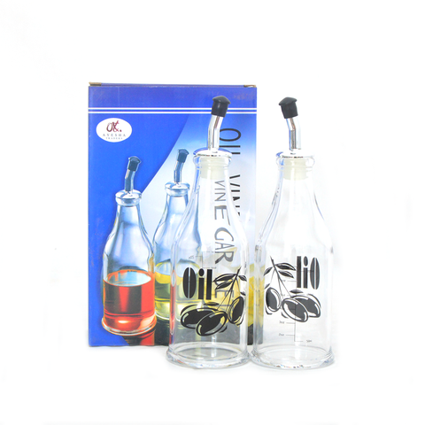 Acrylic 2pc Oil/vinegar set