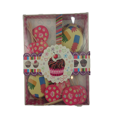 Cup Cake Decoration Set