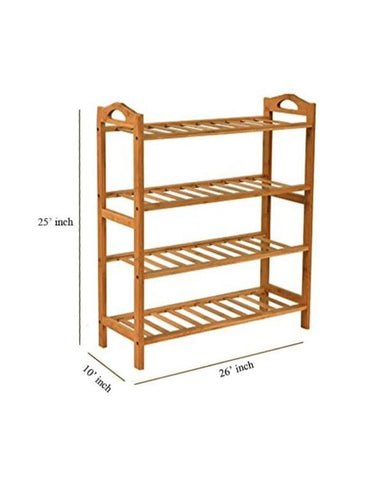 82-3/54-9 Bamboo Shoe Rack XJ-4