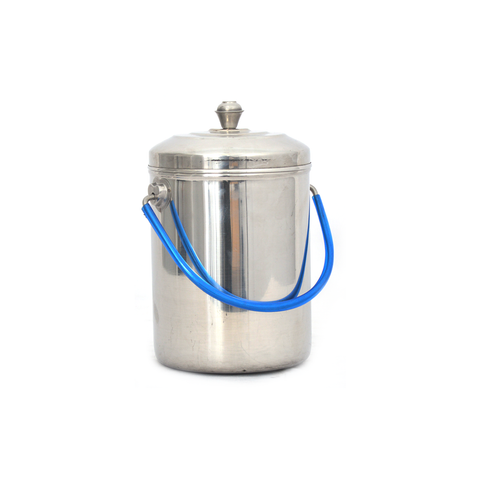 Milk Can Deluxe Heavy # 2 Stainless Steel