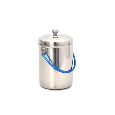 Milk Can Deluxe Heavy # 3 Stainless Steel