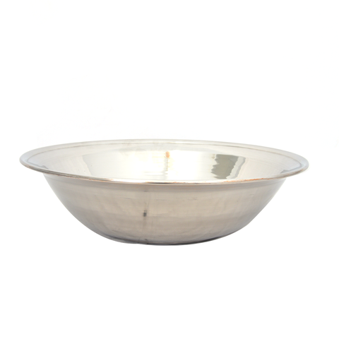 Bowl Basin Steel 18G Heavy 22""
