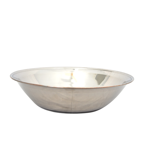 Bowl Basin Steel 18G Heavy 24""