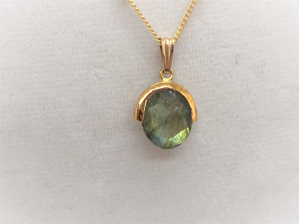 Gemstone Station Necklace - Emmis Jewelry, Necklace, [product_color]