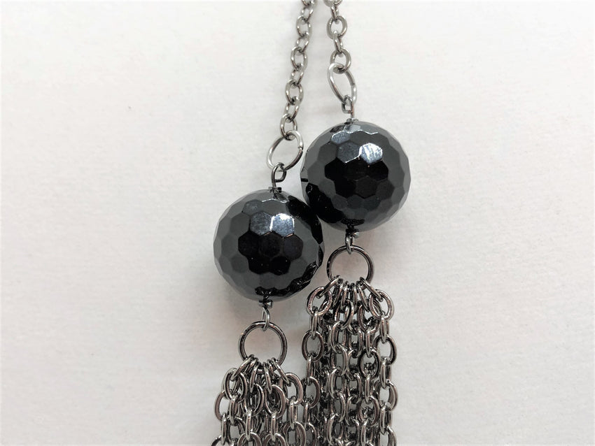 Black black-onyx-lariat Necklace Black Onyx Lariat